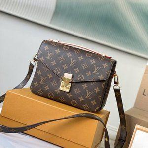 🐎LouisVuitton🐎Pochette Metis Reverse Monogram Bag